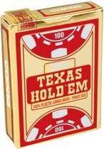 Copag Texas Hold'em Gold pokerkaarten - Jumbo Index - Red