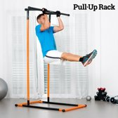 Optrekstang - Pull-Up Rack Toestel voor Pull-Ups en Fitness met Oefengids