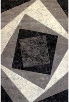 Vloerkleed - 2500 gr per m² - Florida - Grijs - 9293 - 80x150 cm - 12 mm
