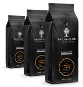Aroma Club koffiebonen - No. 2 Smooth James - 8 x 1 KG - Koffie Intensiteit 3/5