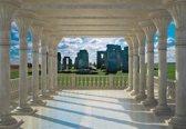 Fotobehang Stonehenge View | L - 152.5cm x 104cm | 130g/m2 Vlies