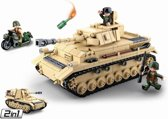 Building Blocks WWII Serie Panzer IV German Tank
