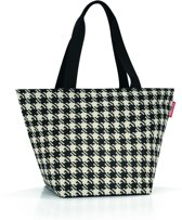 Reisenthel Shopper M Handtas - Shopper - Maat M - Polyester - 15L - Fifties Black Zwart