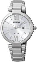 Seiko SUT153P1 horloge dames - zilver - edelstaal