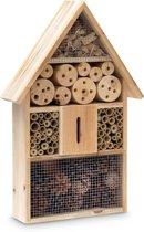 Insectenhotel hout, ongediertebestrijding A, bijenhotel vlinderhuis tuin