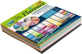 Vaessen Creative Florence Cardstock, Stevig Kaartpapier 216g, 15 x 15 cm - Verschillende kleuren