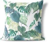 We Maqe sierkussen botanische palm Isabella 45x45 cm