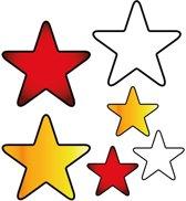 Applicaties 6 stuks op kaart Oeteldonk sterren
