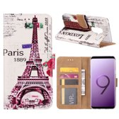 FONU Bookcase Parijs Samsung Galaxy S9 Plus