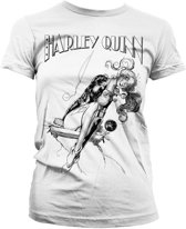 BATMAN - T-Shirt Harley Quinn Sways - GIRLY (S)