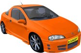 Carcept Voorbumper Opel Tigra A 'Basic'