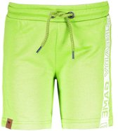 B-Nosy Jongens lange broeken B-Nosy Boys short pants with print on side geel 122/128