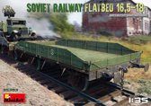 Miniart - Soviet Railway Flatbed 16,5-18 T 1:35