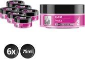Taft Styling Wax Jar Gloss 6x