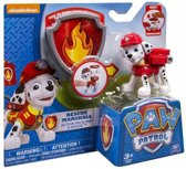 Paw Patrol Action Pup - Marshall + badge