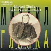 Glinka: Complete Piano Music Vol 3 / Ryabchikov