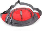 Adventure Bags Heuptas Outdoor Rood Zwart