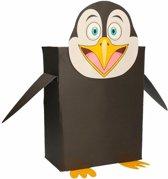 Pinguin zelf maken knutselpakket / sinterklaas surprise