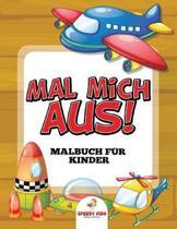 Gesch ftige Roboter Malbuch (German Edition)