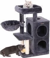 Nancy's Krabpaal Lichtgrijs met Hangmat en Speeltje - Speelhuis Voor Katten -  90CM