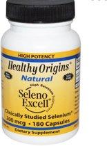 Seleno Excell Selenium 200mcg (180 capsules) - Healthy Origins
