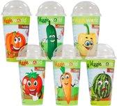 Veggieworld Groenten Kweekset - 6 Verschillende Groentesoorten