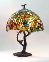 Arcade AL1658-1 - Tafellamp - Tiffany lamp