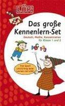 Das große LÜK-Set für Einsteiger: Deutsch, Mathe, Konzentration für Klasse 1 und 2