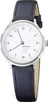 Mondaine Regular MH1.R1210.LB  Horloge - Leer - Zwart - Ø33 mm