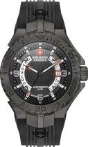 SWISS MILITARY HANOWA Seaman horloge  - Zwart