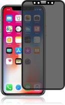 Screen Protector / Tempered Glass / Anti Spy Screen Protector / Armor Glass / Privé Glas Screen Protetcor - GadgetKing - Extra gehard Japans glas 3D –  Voor Apple iPhone Xr – ZWART, Geheel bedekt & met handig installatie template