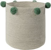 Lorena Canals - Basket Bubbly Natural-Green 30x30x30