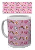 Emoji Pink Pattern