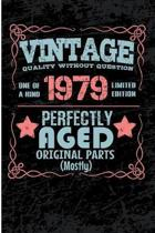 Vintage Quality Without Question One of a Kind 1979 Limited Edition Perfectly Aged Original Parts Mostly