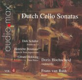 Dutch Cello Sonatas Vol. 4