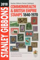 Stanley Gibbons stamp catalogue Commonwealth and British Empire stamps 1840-1970