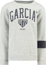 Garcia Jongens GARCIA-sweater - grey melee - Maat 140/146