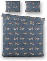 Byrklund Feel Wild Dekbedovertrek - 200x220/230 cm - Blauw