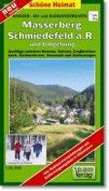 Masserberg, Schmiedefeld a. R. und Umgebung 1 : 35 000. Wander-, Ski- und Radwanderkarte
