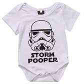 Romper Star Wars ★ Storm Pooper ★ 12 maanden ★ The Dark Side
