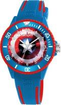 AM:PM horloge blauw rood MP187-U621  MARVEL