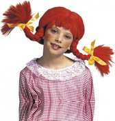 Kinderpruik Pippi rood