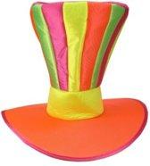 Funhoed jumbo fluor regenboog