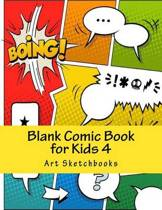 Blank Comic Book for Kids 4