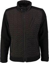 Vanguard zwarte biker winterjas - Maat M