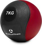#DoYourFitness - Medicine bal - »Medical« - fitnessbal / gewichtsbal - in meerdere gewichtsklassen verkrijgbaar - 7kg / rood