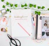 Weddingplanner - Weddingplanner boek - bruiloft -  Hardcover - A4 - 230 pagina's - Nederlands - Musthave plannerboek!