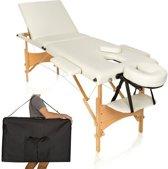 Inklapbare Massage Tafel 3 Zones - Mobiele Behandeltafel Massagebank Verstelbaar Met Draagtas
