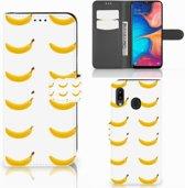 Samsung Galaxy A30 Book Cover Banana