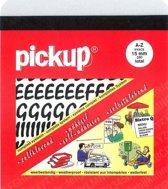 Pickup plakletters boekje Vivace 15mm letters zwart
